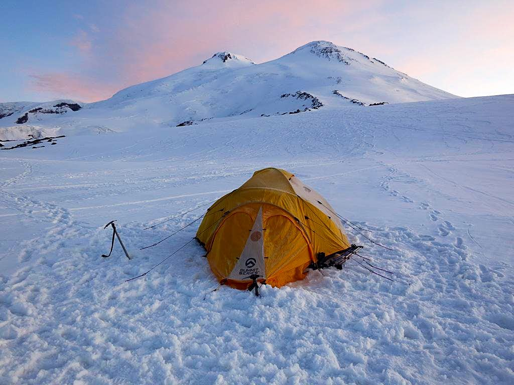 Mt Elbrus - Camp 1 12,700'