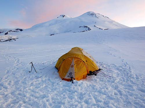 Mt Elbrus - Camp 1 12,700\'