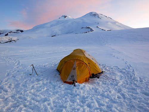 Mt Elbrus - Camp 1 12,700'