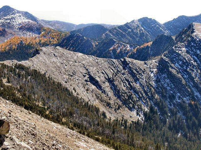 Warren Peak to McGlaughlin Peak Traverse