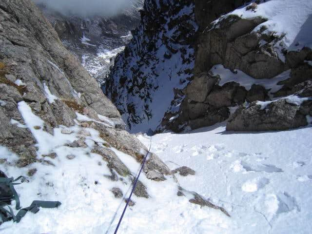 Crux from the top