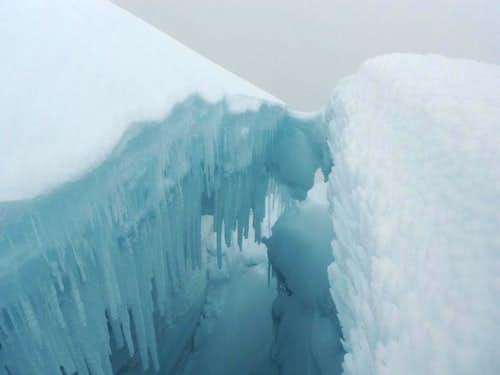 summit crevasse