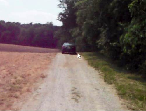 Gravel Drive to Hoosier Hill Trail
