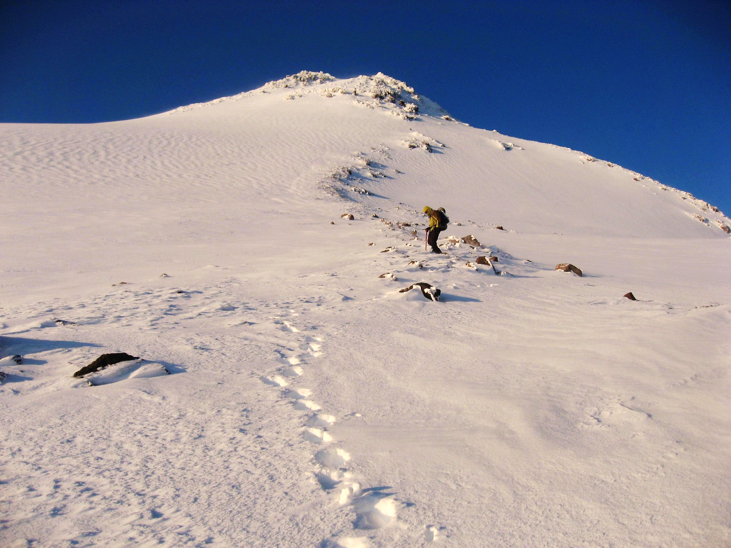 Mt Shasta Summit via Hotlum-Bolum Ridge