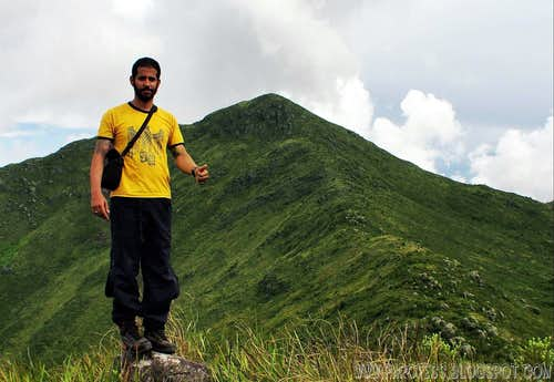 Me: summit of Marombinha Peak
