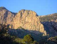 From Domingo Baca Canyon