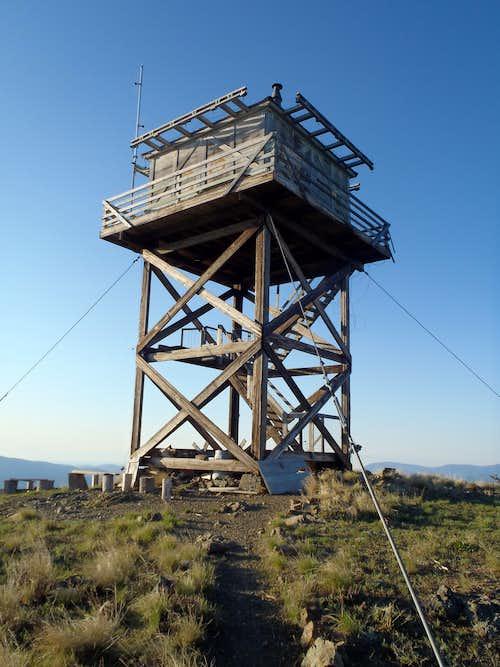 Lookout Mountain Lookout (near Twisp)