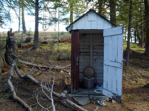 Funk Mountain Outhouse