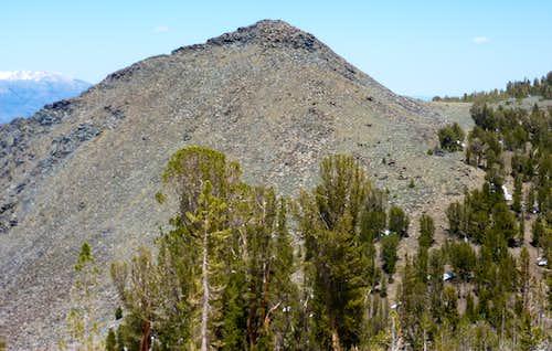View back to Peak 10401
