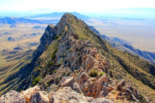 Moapa's Ridge.