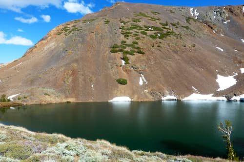 South Peak above Red Lake