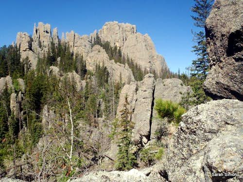 Harney Peak & Little Devils Tower