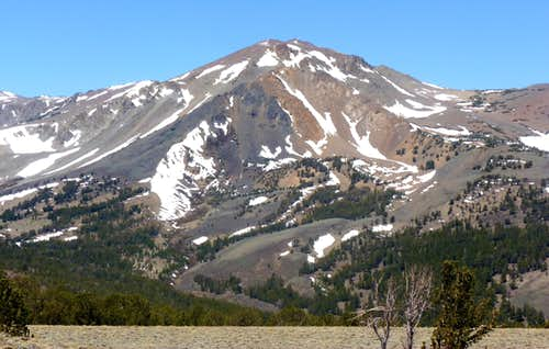 Eagle Peak from the Sawmill Ridge near Sawmill Ridge Peak 10,325\'