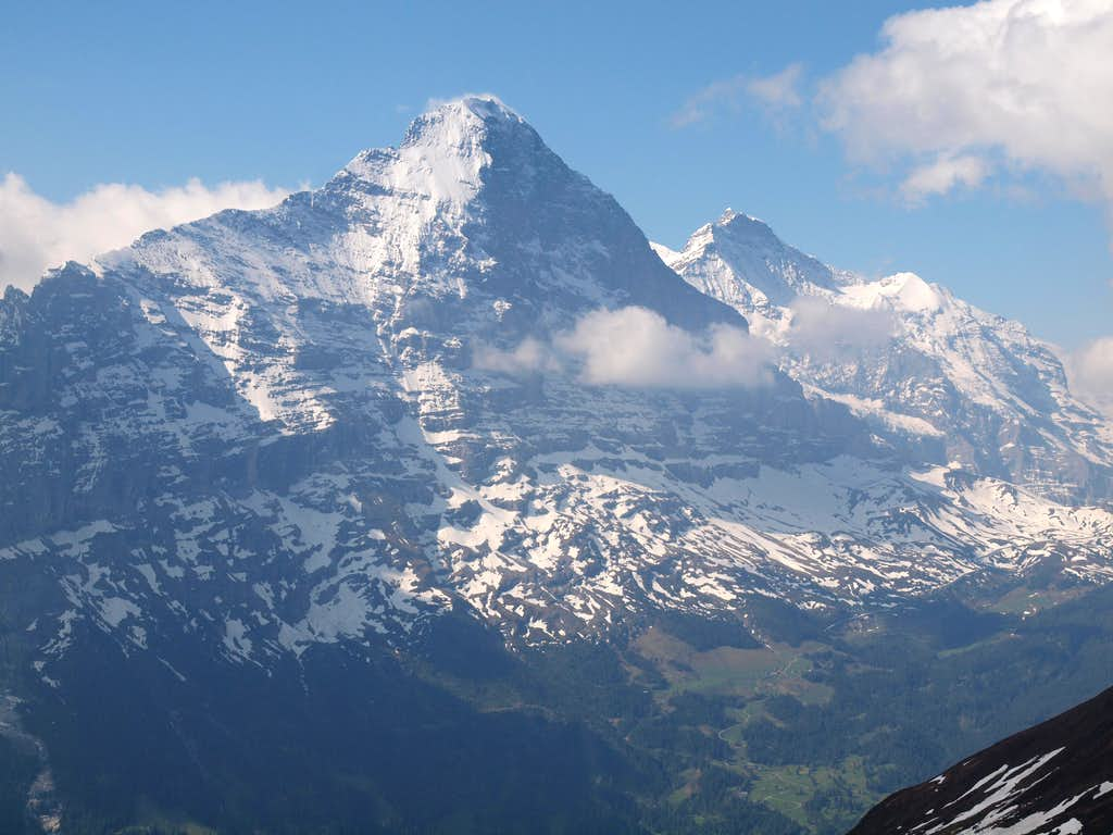 Eiger and Jungfrau ...