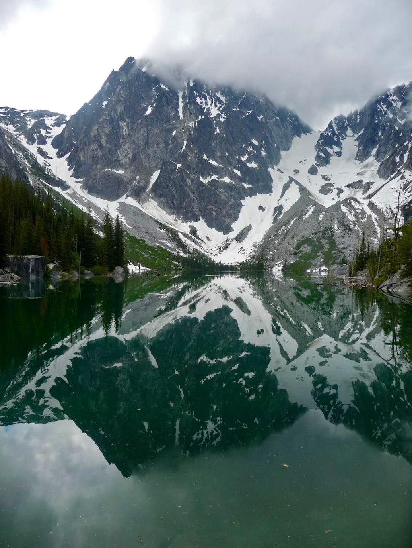 Dragontail Peak Reflection