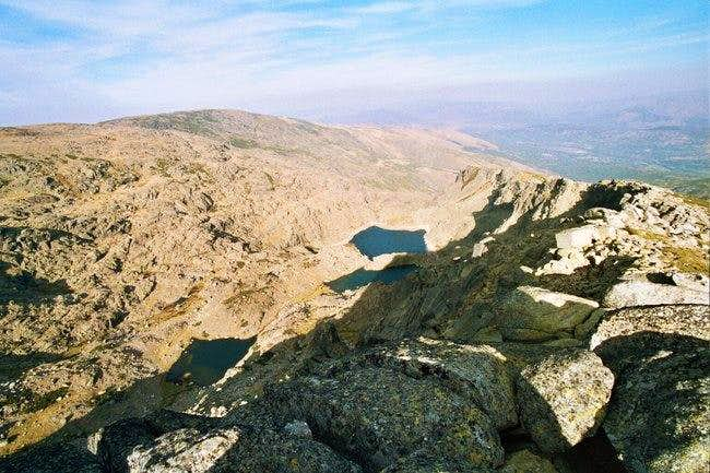 Lagunas del Trampal seen from...