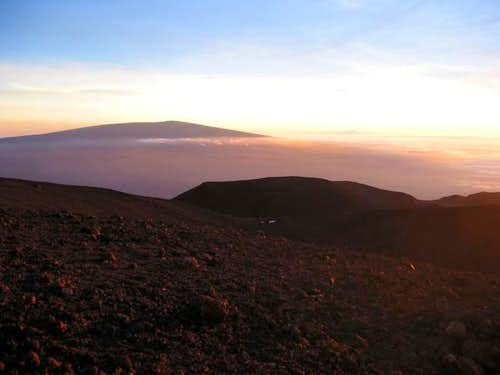 Mauna Loa from the summit of...
