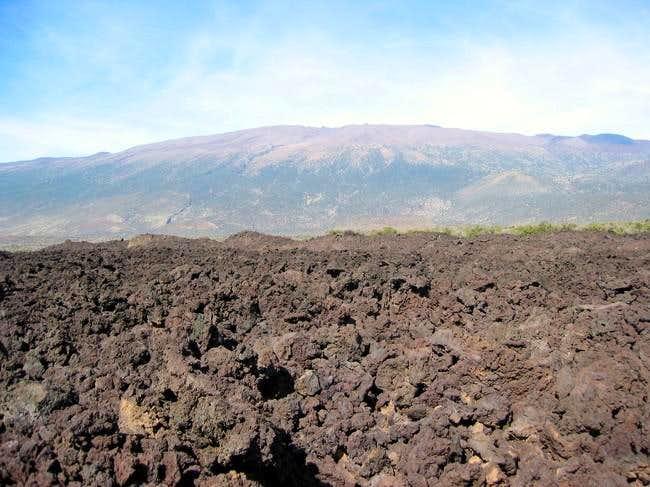 Mauna Kea from Saddle Road...