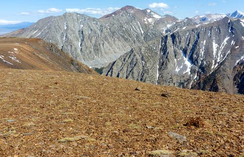 North side of Mount Warren 12,327\' - May 27, 2012