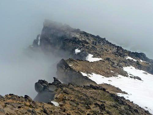 Colchuck Peak's False Summit