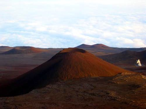 Large cinder cone near the...