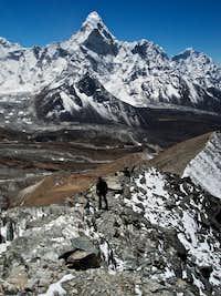 Chhukung Ri: On the Summit Ridge