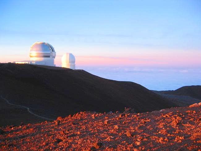 Gemini, and CFHT telescopes...