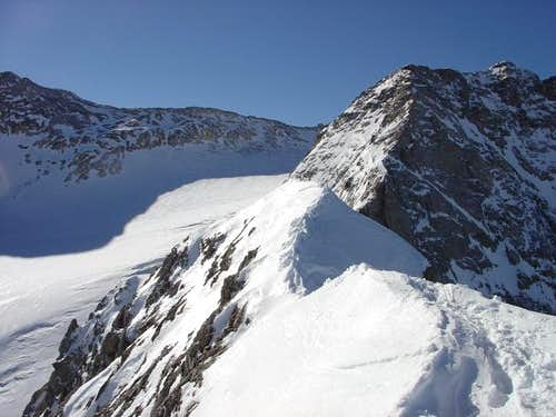 Ossoue Glacier from Petit...