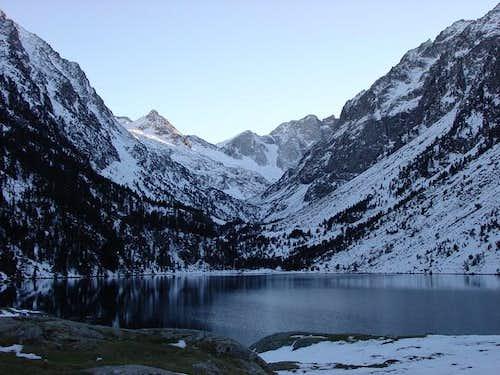 Lac de Gaube in the...