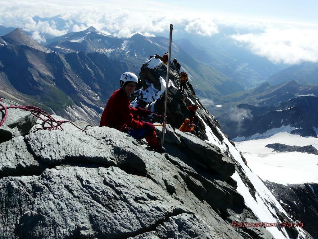 On the Kleinglockner's ridge