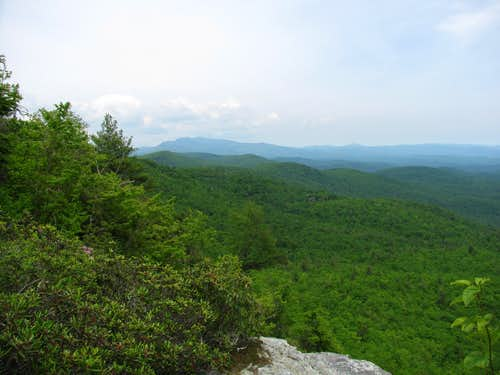 Grandfather Mountain From Sitting Bear