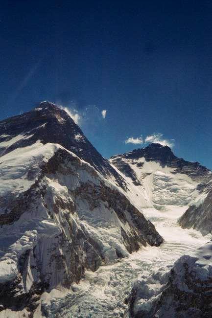 Everest-Lhotse from Pumori