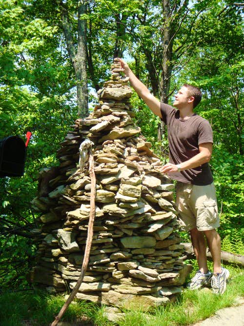 adding to the cairn