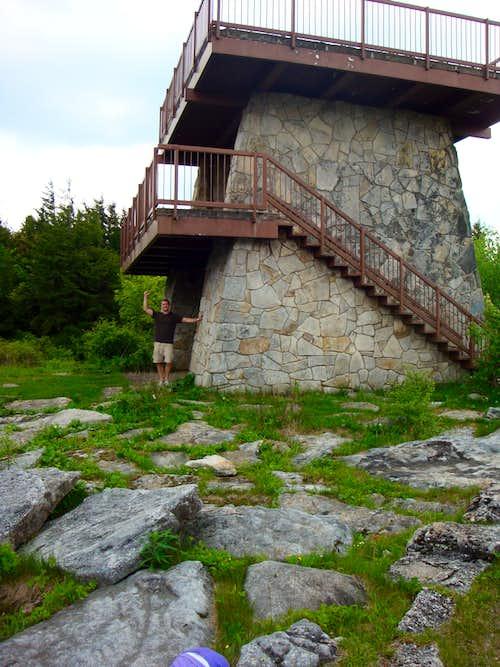 spruce knob tower