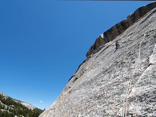 Dike Route, pitch 2