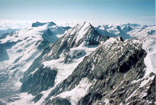 Cevedale, Königspitze (in the...