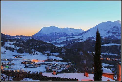 Monte Vettore from Amandola