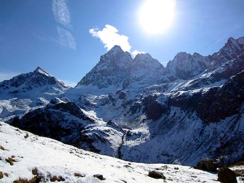 Monviso North face