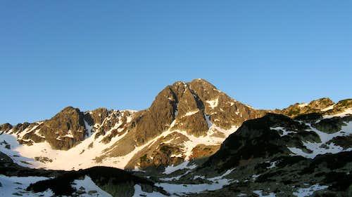 Bucura twin-peak (2372m)