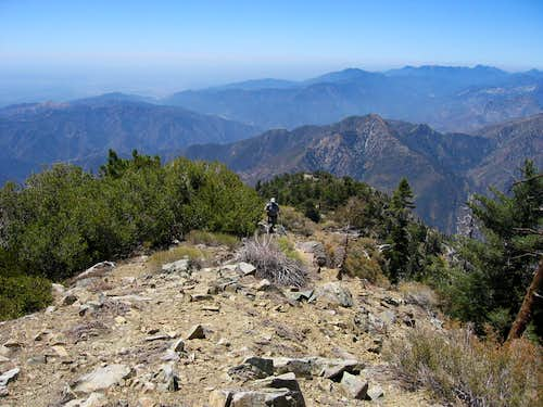 Iron Mt Baldy Traverse 14A