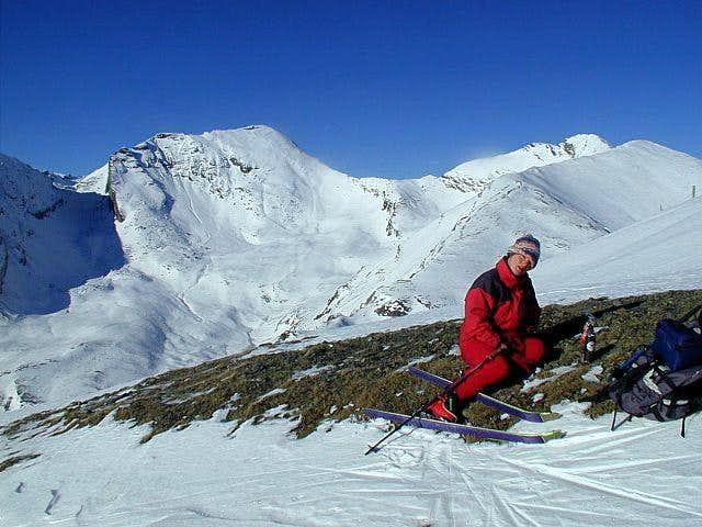 On the NW ridge of Stubeck,...