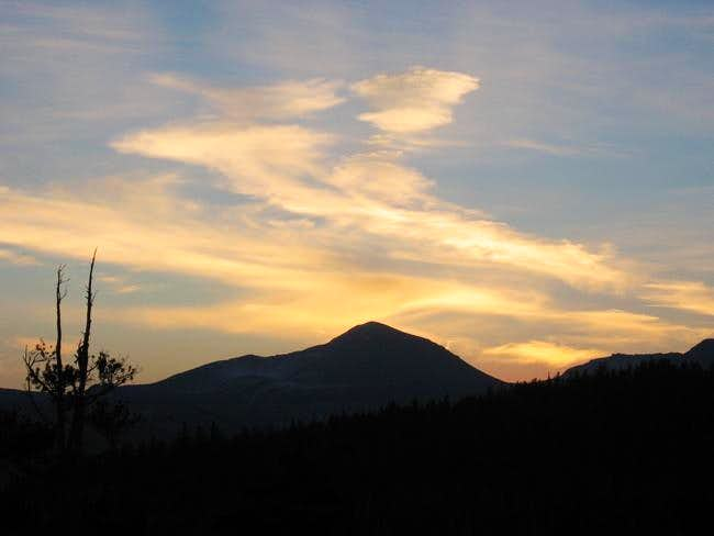 Mt. Dana from near Tuolumne...