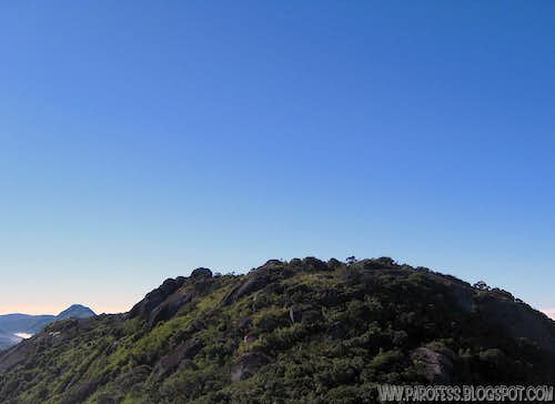 Selado Peak as seen from