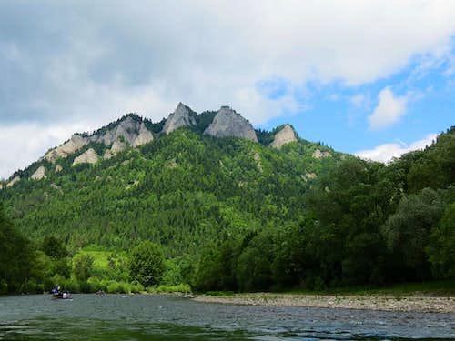 Trzy Korony from river Dunajec