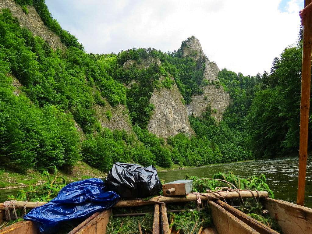 Sokolica from raft