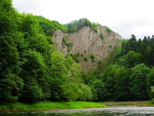 Last part of gorge