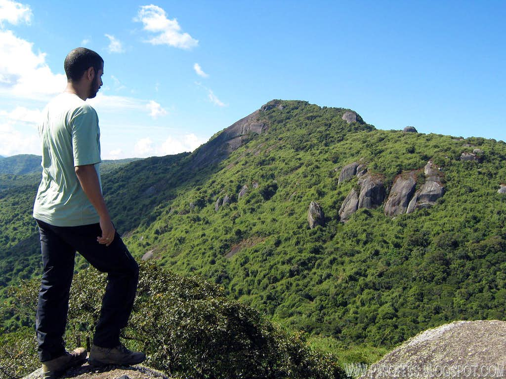 Pedra Redonda (Brazilian Half Dome) summit