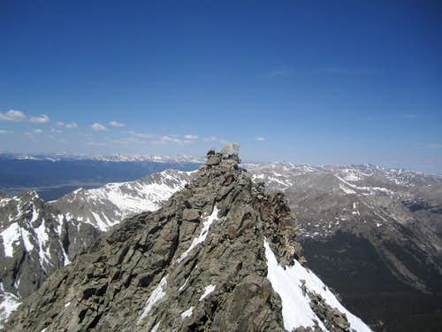 Ice Mountain false summit
