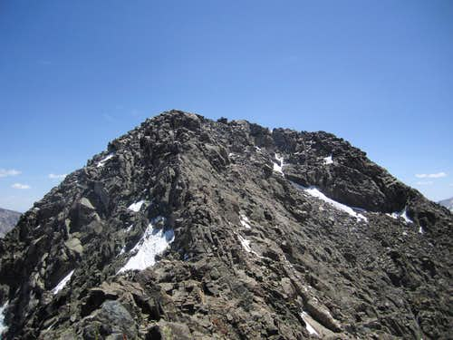 Ice Mountain summit
