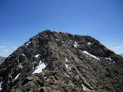 Ice Mountain summit